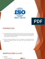 Presentacion ISO 9001-2015