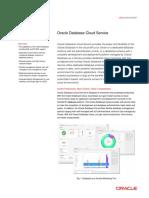 Oracle Database Cloud Service Ds 090414