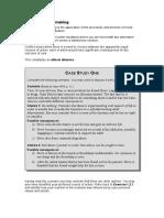 Ethicscase Study 1