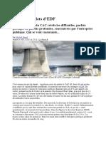 Le Point - Les Cinq Boulets d EDF