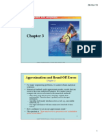 TextBook Ch03 Approximations and Round-Off Errors