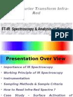 FT-IR Analysis of Materials