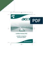 GPS Acer Copilot Pocket PC6 QSG ES