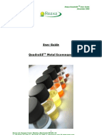 QuadraSil Metal Scavengers User Guide