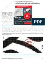 How to Turn a Pixel Image Into a Vector Image Using Adobe Illustrator