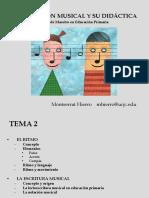 Presentacion Tema 2 Exp. Musical Cag Primaria (2014-15)