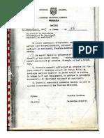 Decizie CMC 1995 Registru Monumente Istorice