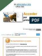 TUTORIAL. Correo Educastur Office 365. Acceder Por Primera Vez (PDF - 1,10 Mb) (1)
