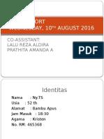 Duty Report 10 Agustus