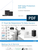 Sap Data Protection With Emc