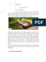 Mudras - Healing Through Your Fingers