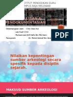 Kepentingan Sumber Arkeologi Scr Spesifik Kpd Disiplin Sejarah