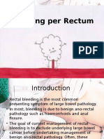 Bleeding Per Rectume (1)