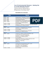 Program of Activities12616