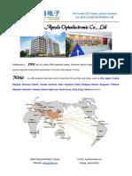 Catalog of Apexls LED Display(Skylar)