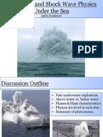 Explosions Underwater