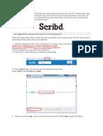Anda Ingin Download Di Scribd Sepuasnya Secara Gratis Tanpa Login Dan Upload