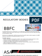 regulatory bodies powerpoint