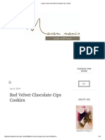 Masam Manis_ Red Velvet Chocolate Cips Cookies
