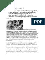 Alicia Delibes La Hegemonía Cultural