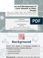 Diagnosis and management chronic liver disease in elderly