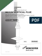80 125 Vertical Flue Instructions