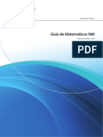 Matematicas NM  IB - Guia de La Materia Mat Sl Ib