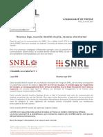5 Mai 2014 - Nouvelle Identité Visuelle, Nouveau Logo, Nouveau Site Internet Pour Le SNRL