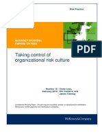 16 Taking Control of Organizational Risk Culture