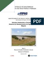 FIPAG_Plano de Gestão Ambiental e Social, 2012