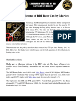 Rate Cut and Market Reaction