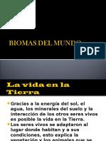 Biomas Del Mundo de 7º