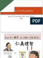5) Xunzi - Learning and Effort (1)