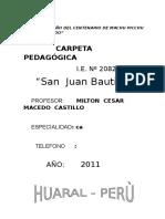 Carpeta Pedagogica NSC 2015
