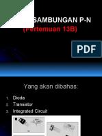 [13b] Diode Sambungan P-n