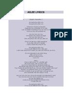 Ailee; My Love