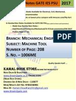 1006. ME_Machine Tool