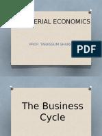 Economics business cycle