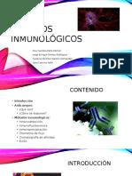 Métodos inmunológicos de detección en Biología celular.