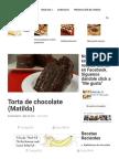 Torta de Chocolate (Matilda) _ Delicias