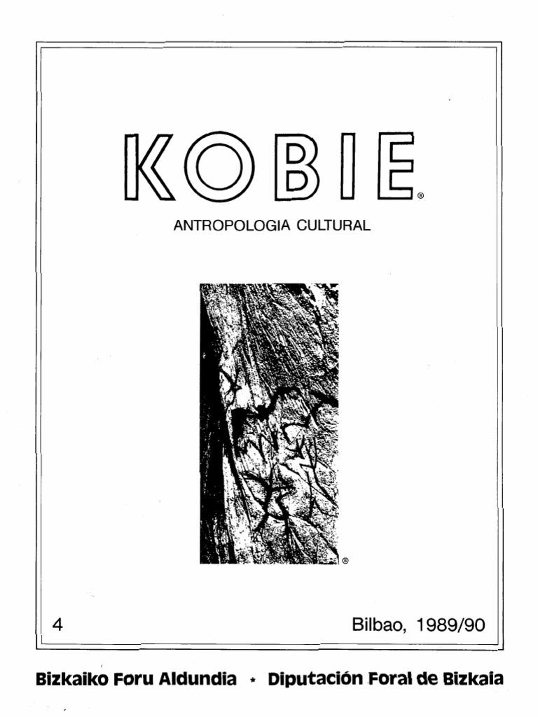 Kobie 4 Antropologia Cultural Volumen Completo f5077714782