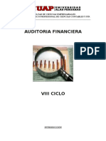 Curso Auditoria Financiera-Avances