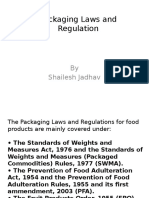 Packaging Laws and Regulation