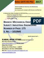 1010. ME_Industrial Engineering