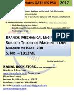 1012. ME_Theory of Machine