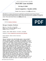 Linguist List 14 Review of Stb 1e