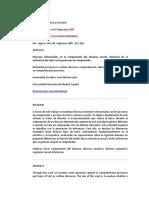 5. Escudero y León (2007) Las Inferencias