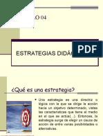 PPT 05 Estrategias Didacticas Universitaria