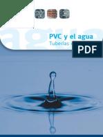 PVC y el agua. Tuberías de PVC