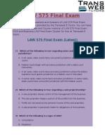 LAW 575